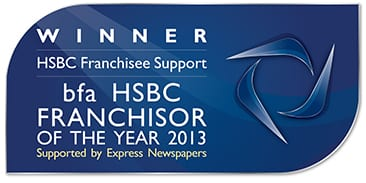 Franchisor bfa winner support barking mad business