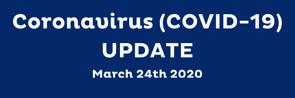 Coronavirus Covid 19 Update March 24th 2020 by Barking Mad pet sitters